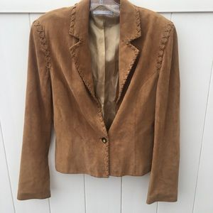 Saks Fith Avenue Suede Jacket